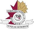 Logo des Cadets escadron 750 de Boucherville